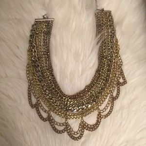 BaubleBar Chain Statement Necklace